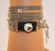 Load image into Gallery viewer, B-JWLD Silver Wrap Bracelet