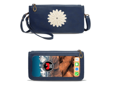 Load image into Gallery viewer, Save the Girls Daisy Boysenberry Purple Touch Screen Purse