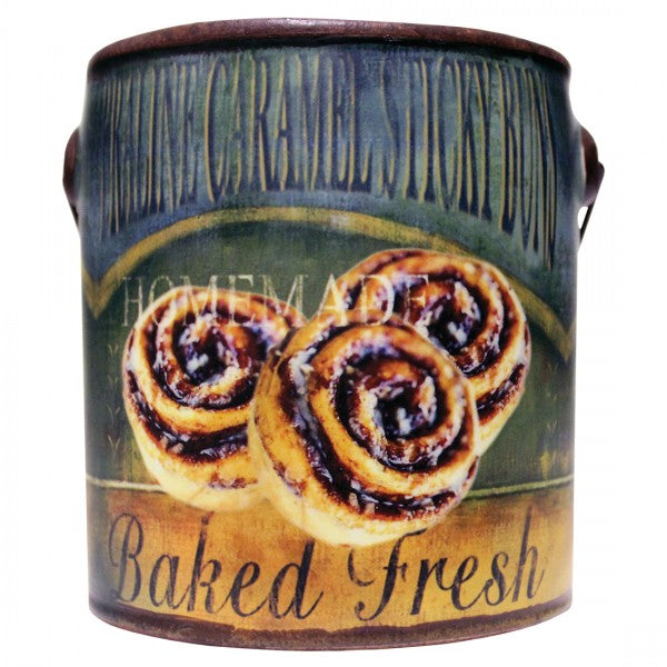 Farm Fresh Mini Candles - Praline Caramel Sticky Buns -  by A Cheerful Giver