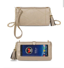 Load image into Gallery viewer, Save the Girls Phone Case/Wallet/Purse Allure Collection in Gold