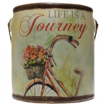 "Load image into Gallery viewer, Farm Fresh ""Life is a Journey"" Candle by A Cheerful Giver"