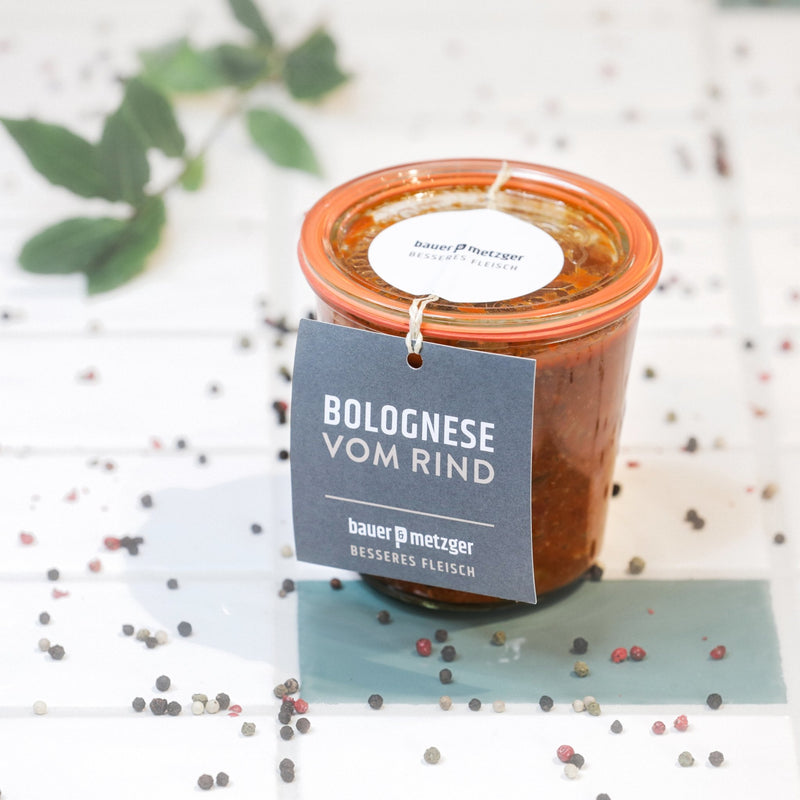 B&M Suppe Bolognese - BAUER UND METZGER