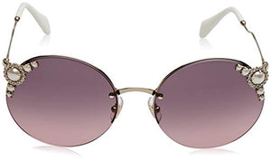 Miu Miu Pale Gold Sunglasses