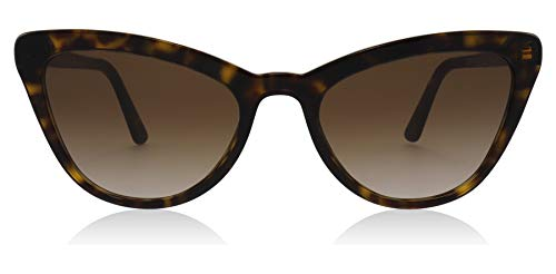 Prada PR01VS 2AU6S1 Havana Catwalk Cats Eyes Sunglasses Lens Category 3 Size 56