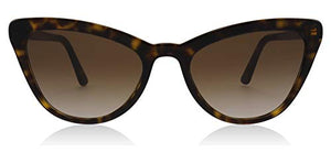 Prada Havana Catwalk Cats Eyes Sunglasses