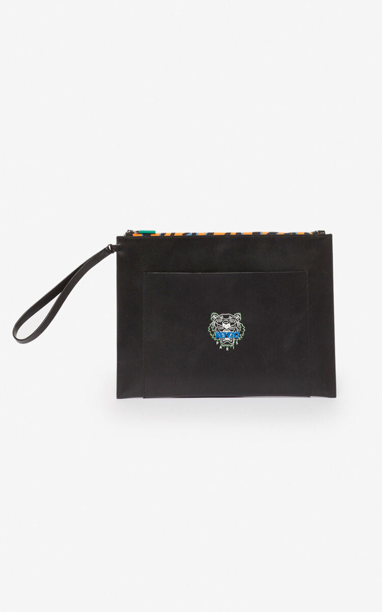 Kenzo Tiny Tiger A4 Clutch Bag