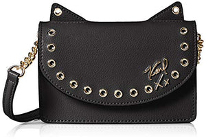 Karl Lagerfeld Paris Womens Kato Crossbody Bag