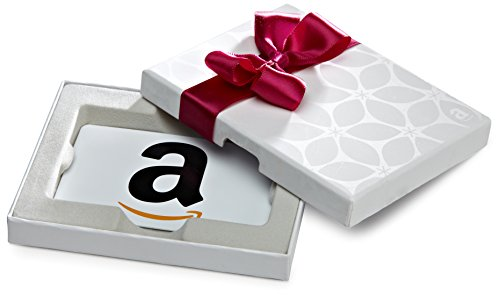 Amazon.com Gift Card in a White Gift Box (Classic White Card Design)