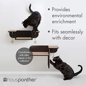Primetime Petz Hauspanther Step Perch - Wall-Mounted Cat Perch & Scratcher