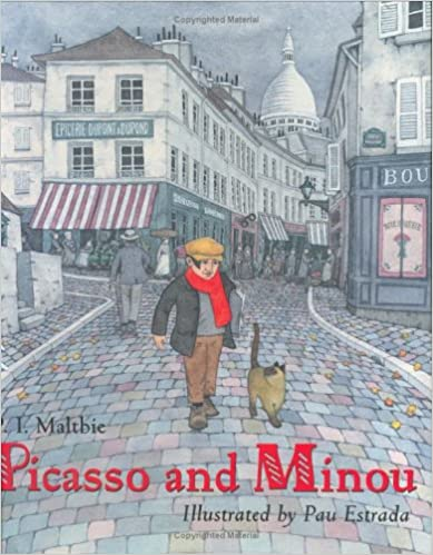 Picasso and Minou by P.I. Maltbie -Book