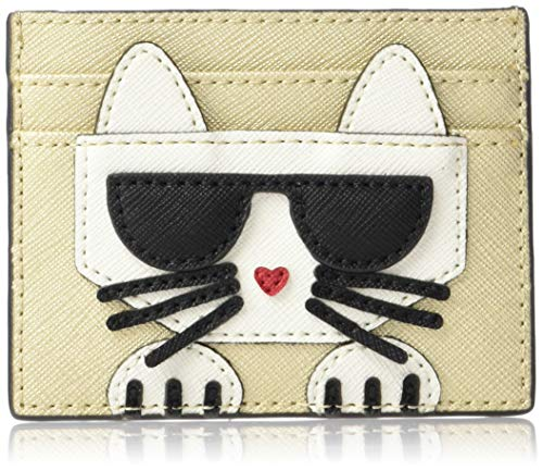 Karl Lagerfeld Paris PEEKING KITTY CARD CASE