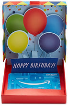 Load image into Gallery viewer, Amazon.com Gift Card in a Birthday Pop-Up Box