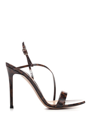 Gianvito Rossi Patent Leather Manhattan Sandals