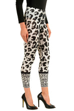 Load image into Gallery viewer, Versace Versus Multi-Color Leopard Printed Women's Leggings Sz US 2XS IT 36