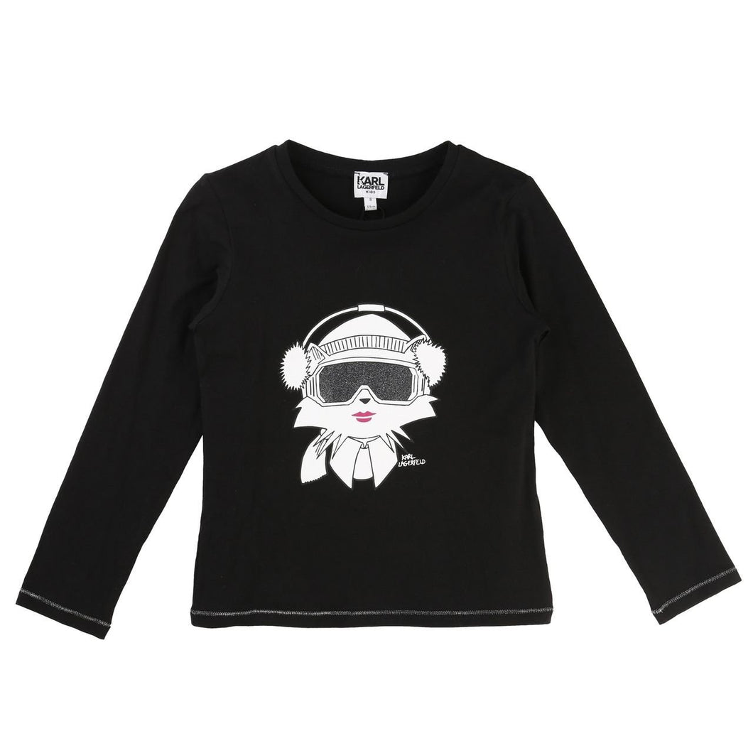 Karl Lagerfeld Kids Long Sleeve T-shirt