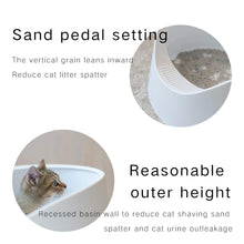 Load image into Gallery viewer, Pidan Cat Litter Box Large Litter Pan Cat Toilet Open Design Moderate Capacity