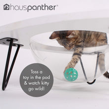 Load image into Gallery viewer, Primetime Petz Hauspanther Tripod - Cat Lounge Pod, White