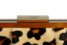 Load image into Gallery viewer, Red Valentino Leopard Printed Pony Hair Handbag/Shoulder Bag