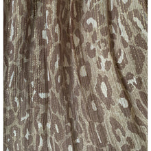 Load image into Gallery viewer, BCBGMaxazria Gold Leopard Print  Silk Gown Dress