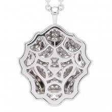 Load image into Gallery viewer, Chanel 18K White Gold Diamond Sous Le Signe du Lion Pendant Necklace