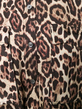 Load image into Gallery viewer, Equipment Leopard Print Long Sleeve Shirt