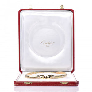 Cartier 18K Pink Yellow White Gold Panthère De Cartier Collar/Necklace