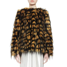 Load image into Gallery viewer, Dries Van Noten Reese Short faux-fur jacket
