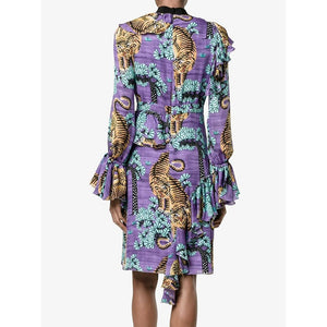 Gucci Bengal Tiger Print Dress