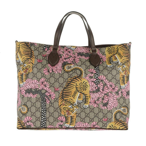 Gucci Supreme Shopping Bag Bengal
