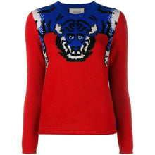 Load image into Gallery viewer, Gucci Tiger Knit Sweater Jumper