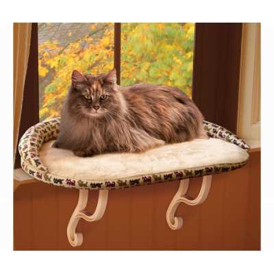 K&H Deluxe Kitty Sill Window Perch KH3097