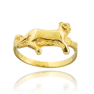 Lioness Ring in 9ct Gold