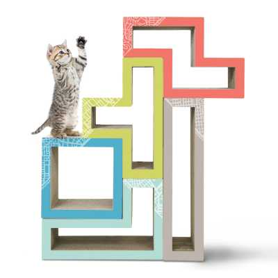 Modular Cat Tree - City San Francisco