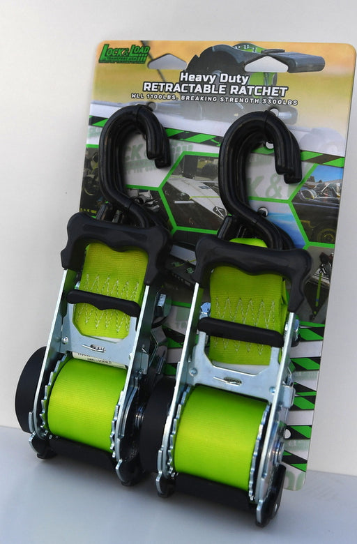 "Ultimate Heavy-Duty Retractable Straps (2"")"
