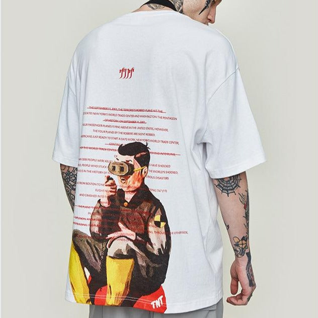 Men's oversize Short Sleeve T-shirt