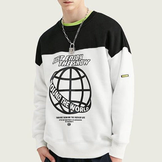 Men's Wear New Crewneck Loose sweatshirt