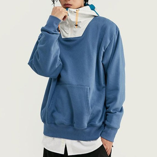 Men's Windproof Men's Splicing Soft hoodies