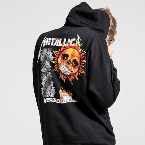 Men's Wear METALLICA band High Street Long-sleeve hoodie