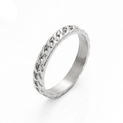 men's accessories fashion punk jewelry stainless steel chain ring