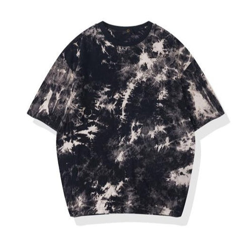 women's spring and summer tie-dye high street loose t-shirt
