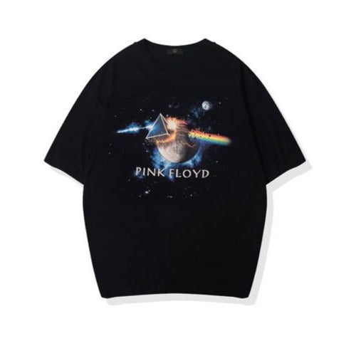 men's wear Pink Floyd science fiction fashion T-shirt