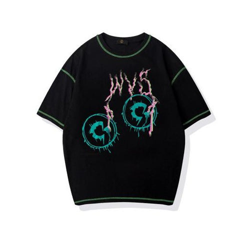 Men's Wear Spring and Summer special effects print T-shirt