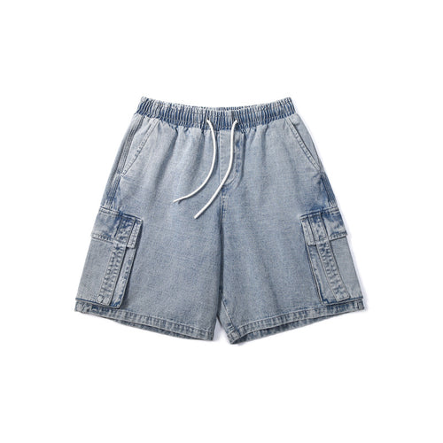 Men's Wear Summer Casual Loose Denim Shorts