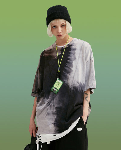 Women's Wear Hand-dyed Casual T-shirt