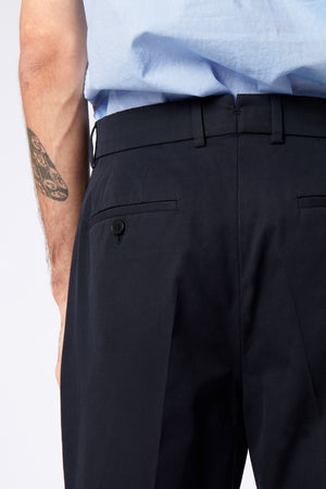 VOLUME TROUSER - Fine Twill