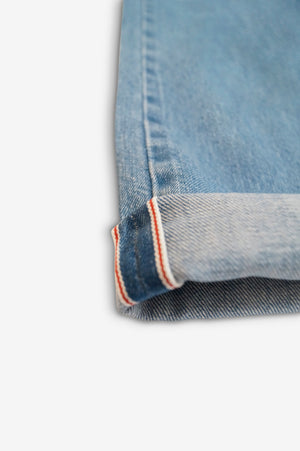 STRIKE SELVAGE TROUSER - Stone