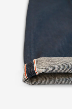 STRIKE SELVAGE TROUSER - Rinse