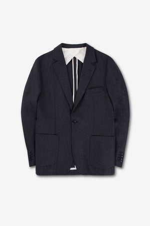 ONE BLAZER WOOL FLANNEL