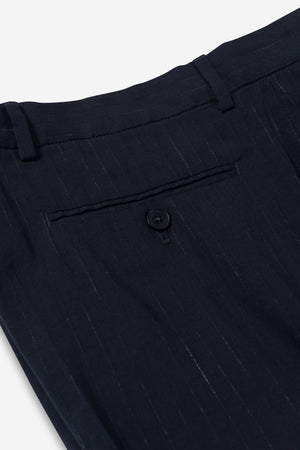 VICE TROUSER - Midnight Pinstripes