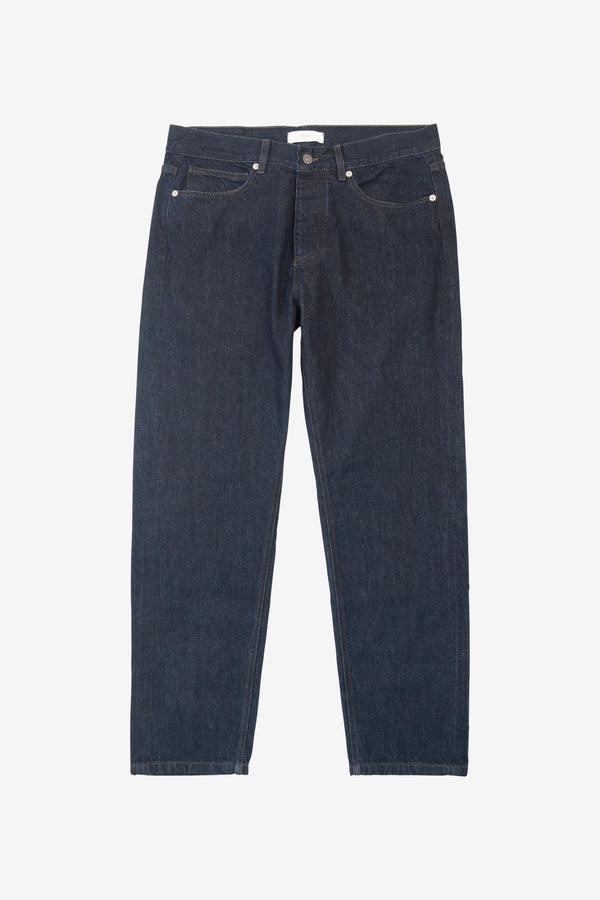LUCKY SELVAGE TROUSER - Rinse